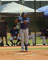 Alex De Jesus - Los Angeles Dodgers 2021 spring training (Bill Mitchell)