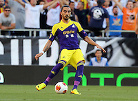 Valencia, Spain. Thursday 19 September 2013<br /> Pictured: Chico Flores.<br /> Re: UEFA Europa League game against Valencia C.F v Swansea City FC, at the Estadio Mestalla, Spain,