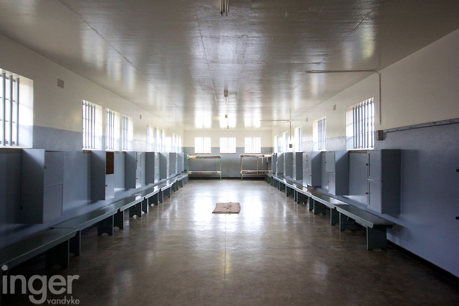 Robben Island Prison near Cape Town, South Africa