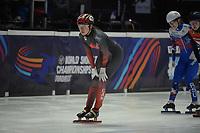SPEEDSKATING: DORDRECHT: 05-03-2021, ISU World Short Track Speedskating Championships, Heats 1000m Ladies, Courtney Sarault (CAN), ©photo Martin de Jong