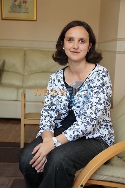 Oksana McNIff .Photo: Fran Caffrey/www.newsfile.ie..
