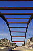 360 bridge is a unique design and the gateway to the Austin, Texas Hill Country