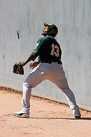 Tyreace House - Oakland Athletics - 2009 spring training.Photo by:  Bill Mitchell/Four Seam Images