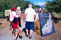 5th Annual Garlic Festival, August 2013 (hosted by The Sharing Farm) at Terra Nova Rural Park, Richmond, BC, British Columbia, Canada - Garlic Lovers are welcomed to the Festivities