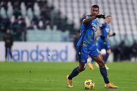 3rd January 2021, Allianz Stadium, Turin Piedmont, Italy; Serie A Football, Juventus versus Udinese; Walace Souza Silva of Udinese Calcio in action during the Serie A match between Juventus FC and Udinese