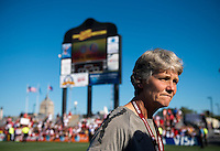 Pia Sundhage.  The USWNT defeated Costa Rica, 8-0, during a friendly match at Sahlen's Stadium in Rochester, NY.