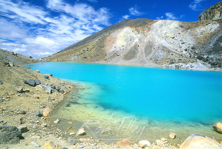 Emerald Lakes, Tongariro NP, North Island, New Zealand