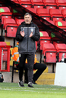 10th October 2020; Bescot Stadium, Wallsall, West Midlands, England; English Football League Two, Walsall FC versus Colchester United; Colchester Manager Steve Ball