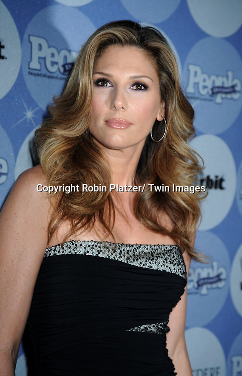 """Daisy Fuentes in posing for photographers at the 14th Annual People En Espanol's """"50 Most Beautiful"""" issue on May 20, 2010 at .Guastavino's in New York City."""