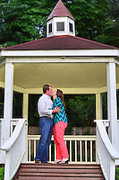 """Walker asks Kristin to marry him….she said """"Yes!"""" -- at Brenner's Blue Bar; sight of their first date."""