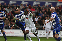 Pictured: Jason Scotland of Swansea City in action <br /> Re: Coca Cola Championship, Swansea City FC v Doncaster Rovers at the Liberty Stadium. Swansea, south Wales, Saturday 21 February 2009<br /> Picture by D Legakis Photography / Athena Picture Agency, Swansea 07815441513