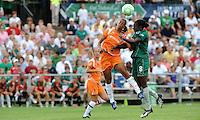 Rosana, Tina Ellertson (#8)..Sky Blue FC defeated Saint Louis Athletica 1-0 at Anheuser-Busch Soccer Park, Fenton, MO.