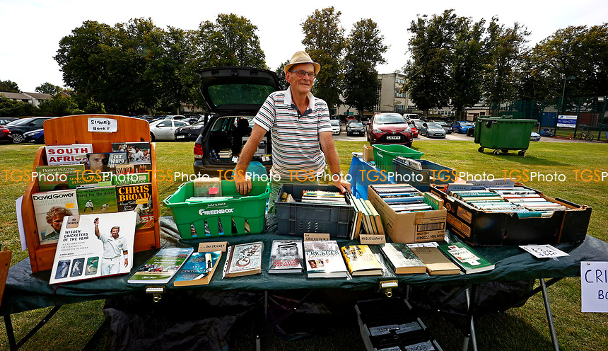Bookseller at the St Lawrence Ground during Kent CCC vs Worcestershire CCC, LV Insurance County Championship Division 3 Cricket at The Spitfire Ground on 6th September 2021