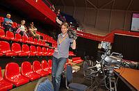 April 18, 2015, Netherlands, Den Bosch, Maaspoort, Fedcup Netherlands-Australia,  Jan-Willem de Lange<br /> Photo: Tennisimages/Henk Koster