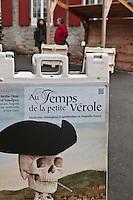 Amérique/Amérique du Nord/Canada/Québec/Montréal:Exposition temporaire: Au temps de la petite vérole,au Château Ramezay, devenu musée