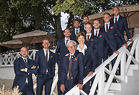 Moscow, Russia, 13 th July, 2016, Tennis,  Davis Cup Russia-Netherlands, Official Diner, team<br /> Photo: Henk Koster/tennisimages.com