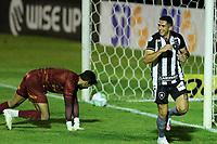 26th August 2020; Estadio Vila Capanema, Curitiba, Brazil; Copa Do Brasil, Parana Clube versus Botafogo; Danilo Barcelos of Botafogo celebrates his penalty kick goal in the 97th minute which won the game at 1-2
