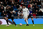 Real Madrid's Francisco Alarcon 'Isco' and CD Leganes's Jonathan Cristian Silva during Copa Del Rey match between Real Madrid and CD Leganes at Santiago Bernabeu Stadium in Madrid, Spain. January 09, 2019. (ALTERPHOTOS/A. Perez Meca)