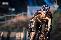 Wout van Aert (BEL/Jumbo-Visma)<br /> <br /> 2021 GP Sven Nys in Baal (BEL)<br /> <br /> ©kramon