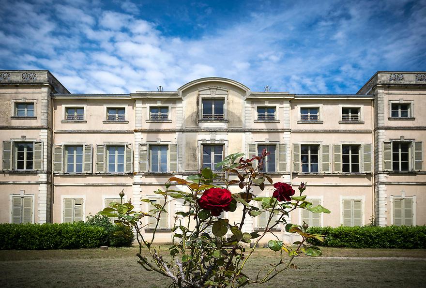 21/06/19 - SAINT MAURICE DE REMENS - AIN - FRANCE - Maison d enfance d Antoine de Saint Exupery, ou l auteur du Petit Prince a passe sa jeunesse - Photo Jerome CHABANNE