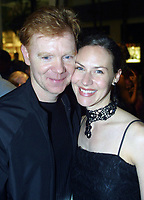 Bal Harbour, FL 3-6-2002<br /> David Caruso & wife Margaret <br /> at the grand opening of The Luis <br /> Vuitton global store opening celebration.<br /> Digital Photo by Adam Scull/PHOTOlink