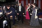 Sir Alexander Graham Lord mayor of London and Carolyn The Lady Mayoress. Banquet at the Guildhall, City of London UK  the Duke and Duchess of Kent 1990