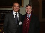 """GIORGIO VAN STRATEN CON PETER GLIDEWELL<br /> PRESENTAZIONE LIBRO """"L'INVIDIA"""" DI ALAN ELKANN IN CAMPIDOGLIO - ROMA 2006"""