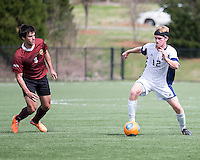 The Winthrop University Eagles played the UNC Wilmington Seahawks in The Manchester Cup on April 5, 2014.  The Seahawks won 1-0.  Kellen Foster (12), Jordi Lluch (3)