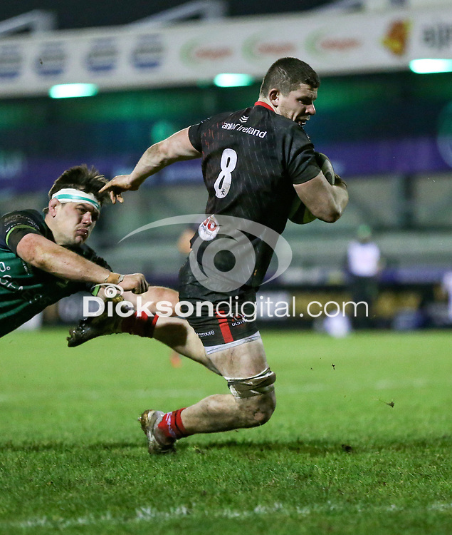 27th December 2020 | Connacht  vs Ulster <br /> <br /> Nick Timoney scores during the Guinness PRO14 match between Connacht and Ulster at The Sportsground in Galway. Photo by John Dickson/Dicksondigital