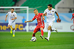 Bunyodkor vs Lekhwiya during the 2015 AFC Champions League Group A match on March 17, 2015 at the Bunyodkor Stadium in Tashkent, Uzbekistan. Photo by Anvar Ilyasov / World Sport Group