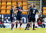 St Johnstone v Ross County…12.05.18…  McDiarmid Park    SPFL<br />Craig Curran celebrates giving County the lead<br />Picture by Graeme Hart. <br />Copyright Perthshire Picture Agency<br />Tel: 01738 623350  Mobile: 07990 594431