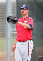 Washington Nationals minor leaguer Clint Everts during Spring Training at the Carl Barger Training Complex on March 20, 2007 in Melbourne, Florida.  (Mike Janes/Four Seam Images)