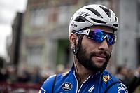 Fernando Gaviria (COL/Quick Step Floors) pre race<br /> <br /> 78th Euro Metropole Tour 2018<br /> La Louvière – Tournai (BEL): 206km