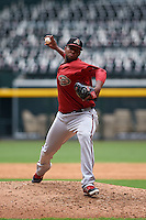 Arizona Diamondbacks pitcher Jency Solis (22) during an instructional league game against the San Francisco Giants on October 16, 2015 at the Chase Field in Phoenix, Arizona.  (Mike Janes/Four Seam Images)