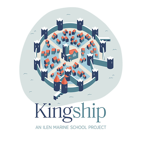 The Ilen Marine Schools' Kingship Programme symbol draws its inspiration from the city's historic interaction with the River Shannon.
