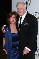 BEVERLY HILLS, CA - JANUARY 19: Jane Morgan, Jerry Weintraub at the 25th Annual Producers Guild Awards held at The Beverly Hilton Hotel on January 19, 2014 in Beverly Hills, California. (Photo by Xavier Collin/Celebrity Monitor)