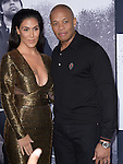 Dr. Dre and wife attends The Universal Pictures' STRAIGHT OUTTA COMPTON World Premiere held at The Microsoft Theatre  in Los Angeles, California on August 10,2015                                                                               © 2015 Hollywood Press Agency
