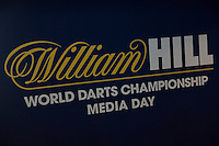 13.06.2014. London, England.  Rileys Sports Bar, Haymarket. The launch of William Hill's sponsorship as title sponsor of the 2015 World Darts Championship.