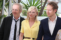 ARNAUD DESPLECHIN, KIRSTEN DUNST AND LASZLO NEMES - PHOTOCALL OF THE JURY AT THE 69TH FESTIVAL OF CANNES 2016