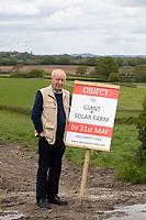 BNPS.co.uk (01202) 558833. <br /> Pic: CorinMesser/BNPS<br /> <br /> Pictured: David Horrell. <br /> <br /> Plans to build a huge solar power farm over the landscape that inspired author Thomas Hardy have been met with growing opposition.  <br /> <br /> The industrial-sized plant would see some 150,000 panels cover 190 acres of Dorset countryside.