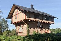 Forstwärterhaus, Freilichtmuseum auf der Insel Seurasaari, Helsinki, Finnland