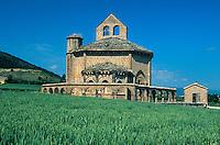Kirche Santa Maria de Eunate,  Navarra, Spanien