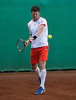 2013-08-17, Netherlands, Raalte,  TV Ramele, Tennis, NRTK 2013, National Ranking Tennis Champ, Nick van der Meer <br /> <br /> Photo: Henk Koster