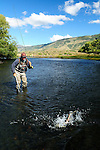 Fly Fishing the Rio Malleo River in Patagonia