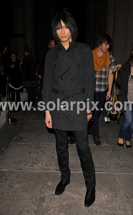 **ALL ROUND EXCLUSIVE PICTURES FROM SOLARPIX.COM**.**WORLDWIDE SYNDICATION RIGHTS**.Outside arrivals at the On_Off  Party, London Fashion Week's off-schedule designer initiative celebrating its 10th anniversary. The event also plays host to charity auction of exclusive beach huts designed by Guinness, Dixon and Geldof.  Held at the Royal Academy of Arts, London, UK.  Monday September 15, 2008...This pic: Nat Weller..JOB REF: 7352 SSD     DATE: 15_09_2008.**MUST CREDIT SOLARPIX.COM OR DOUBLE FEE WILL BE CHARGED* *UNDER NO CIRCUMSTANCES IS THIS IMAGE TO BE REPRODUCED FOR ANY ONLINE EDITION WITHOUT PRIOR PERMISSION*
