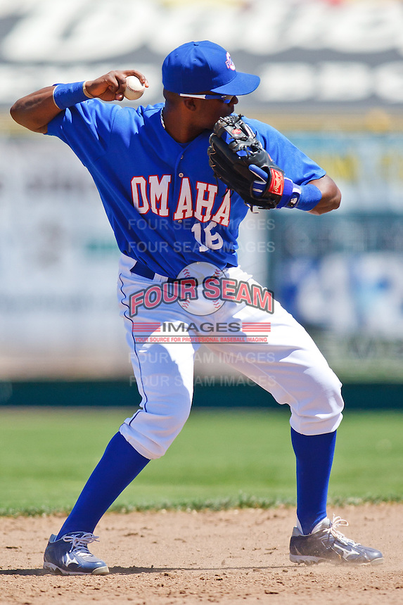 Betemit Wilson May 5th, 2010; Oklahoma CIty Redhawks vs Omaha Royals at historic Rosenblatt Stadium in Omaha Nebraska.  Photo by: William Purnell/Four Seam Images