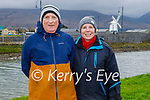 Mike and Nora Walsh enjoying a stroll in Blennerville on Sunday.
