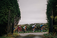 Breakaway group rolling by<br /> <br /> Stage 7: West Bridgford to Mansfield (215km)<br /> 15th Ovo Energy Tour of Britain 2018