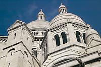 La basilique du Sacré-Coeur in Montmartre, Paris, France