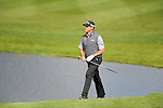 ISPS Handa Wales Open Golf final day at the Celtic Manor Resort in Newport, UK. : Lee Westwood of England walks onto the 18th green.